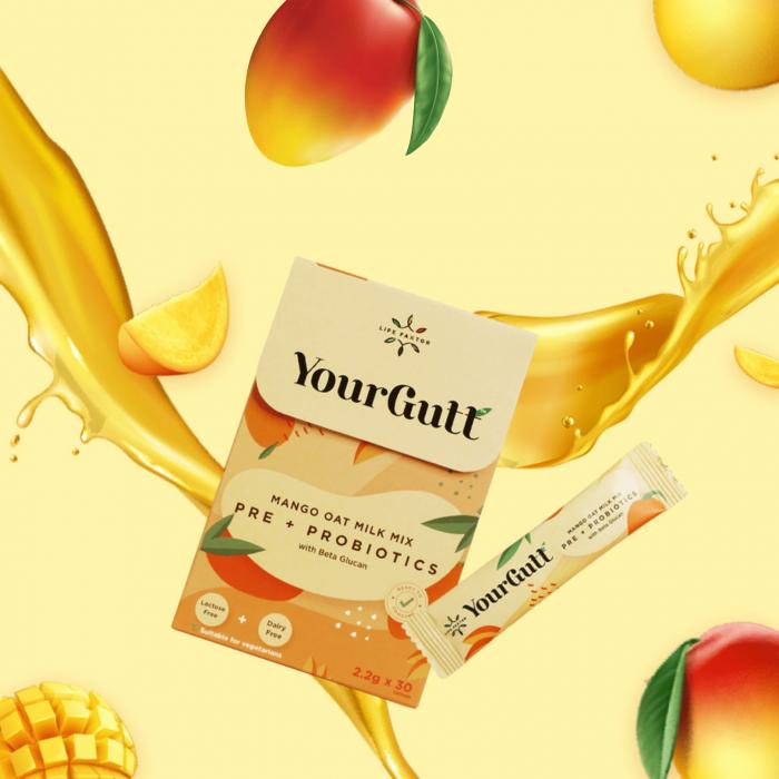 YourGutt Mango Oat Milk