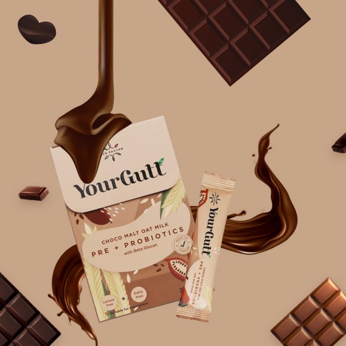 YourGutt Choco Malt Oat Milk