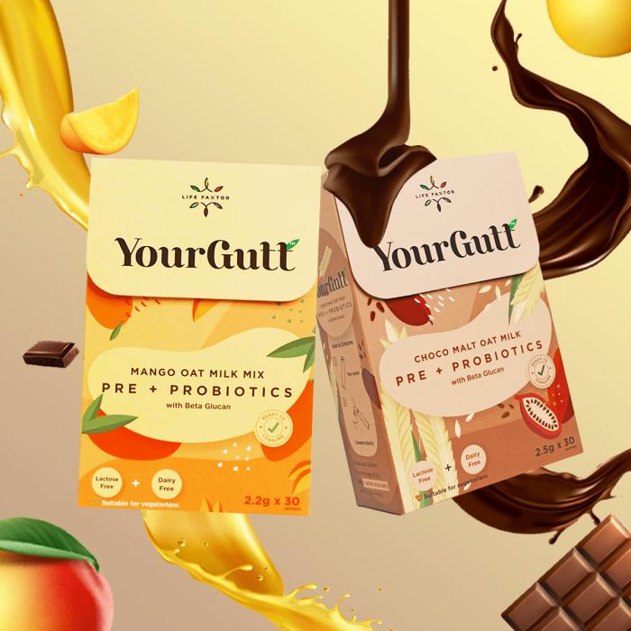 YourGutt Pre Probiotics Bundle Pack 60S
